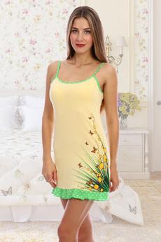 Хлопковая ночная сорочка Натали